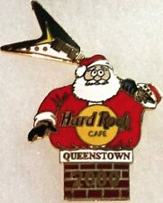 Hard Rock Cafe QUEENSTOWN 2000 CHRISTMAS PIN Fat SANTA Stuck In Chimney HR #7645