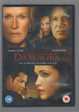 DAMAGES - SEASON 2 - UK R2 DVD - SERIES TWO - (mint condition - as new/unplayed)