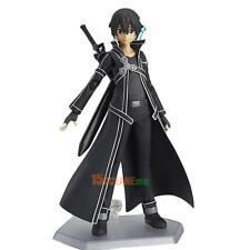 SAO Sword Art Online Kirigaya Kazuto Kirito Figma PVC Action Figure Box CH #ORP