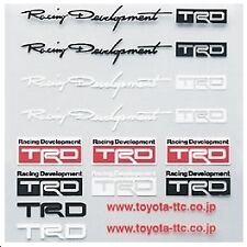 TRD Mini Sticker Decal Set MR2 Celica Supra Starlet