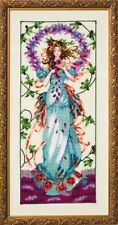 """SALE! COMPLETE XSTITCH KIT """"BLOSSOM GODDESS MD146"""" by Mirabilia"""