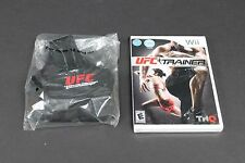 NEW UFC Personal Trainer: The Ultimate Fitness System (Wii, 2011) + leg strap