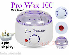 Pro Wax 100 Hot Wax Heater - Depilatory Warmer CE Waxing Handle Pot Hair Removal