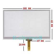 4.3inch HD Resistive Touch screen Panel glass For hsd043i9w1-a00 vx570t 105*65mm