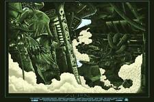 Alien ridley scott var alternative movie poster munitions signé & no./60 nt mondo