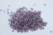 250x lila Ziernieten Niete Krallennieten, Ø2.4 mm, diamantschnitt - runde Form