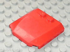 Capot LEGO train red Wedge Ref 45677 / Set 3677 7213 7898 7945 7208 7634 ...