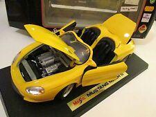 Ford Mustang Mach 3 III Cabrio Cabriolet Corniche gelb yellow, Maisto 1:18 ovp!