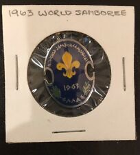 Boy Scout World Jamboree 1963 Hat Pin