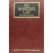 EC Banking Law (Lloyd's Commercial Law Library), Very Good, Penn, Graham, Issacs
