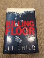 Lee Child KILLING FLOOR hardback 1st ed 1/1 1997 Bantam good+