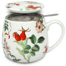 Teetasse mit Sieb und Deckel My favourite tea Hagebutte Könitz
