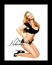 MARIAH CAREY AUTOGRAPHED SIGNED & FRAMED PP POSTER PHOTO