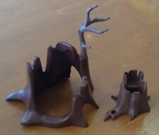Playmobil Forest Woods Tree Stumps - Lot Set Of 2