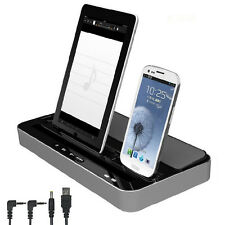Multi-Function Docking Station Charger Speaker For iPhone Samsung iPad