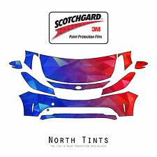 PreCut 3M Scotchgard Paint Protection Clear Bra Kit for KIA Forte 2017