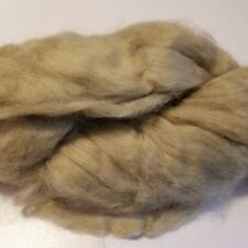 CRAZY Cashmere Roving Combed Top 100% 15 micron LT BROWN luxury fiber spin 1 oz