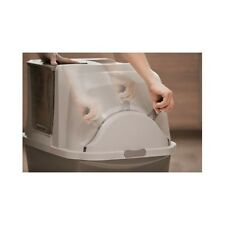 Scoop Free Self Cleaning Cat Litter Box Automatic Pan Lid Cover Multiple Kitty