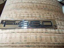 2009 2010 FORD F350 F-350 HARLEY-DAVIDSON FRONT FENDER EMBLEM NEW 9C3Z-16720-B