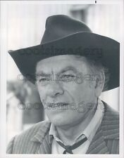 1976 Actor John Ireland in The Quest 1970s Western TV Show Press Photo