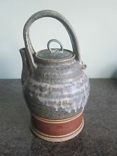 Studio Pottery - Teapot - Signed - Lovely Design