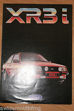 Ford Escort XR3i Sales Folder FA589