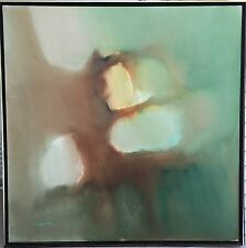 Original Jose Luis Campuzano Painting Oil/Acrylic Abstract Canvas Large Framed