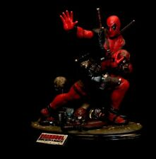 Custom Ghetto Heisman Deadpool 1:4 Scale Statue MIB Not Sideshow Premium Format
