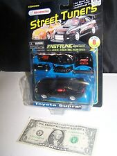 Maisto / Kid Connection Black Toyota Supra - Street Tuners Fast-Tune
