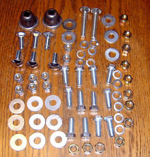 1955 CHEVY BUMPER MOUNTING HARDWARE KIT front & rear with Spacers