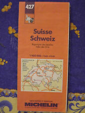 carte michelin 427 suisse 1989
