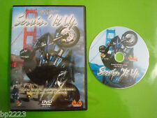 "ILLEGAL CYCLE STUNTS, GO-PEDS-GO-KARTS & CRASHES ""SERVIN' IT UP"" DVD, NEW SEALED"