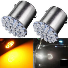 Yellow/Amber 1156 P21W 22 SMD LED Car Tail Brake Turn Signal Light Lamp Bulb