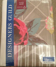 DESIGNERS GUILD BEDDING SET DOUBLE DUVET PILLOW CASES  DUJARDIN 100% COTTON