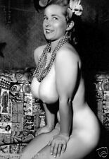 1960s Virginia Bell  big breasts pinup #2 5 x 7 Photograph