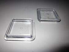 2 Möbeluntersetzer eckig 40 mm schwere Ausführung,Möbelgleiter Gleiter Möbelfüße