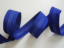 5yd Royal Colbat Blue Grosgrain Wired Ribbon Wedding Winter Holiday Wreath Bow