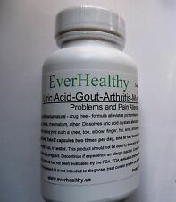 EverHealthy 100% herbal natural Uric Acid, Gout, Arthritis & muscle pain relief