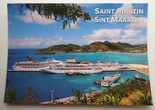 Cruise Ship Row . Carnival, P&O Oceana, Fred Olsen Black Watch . St. Martin V723