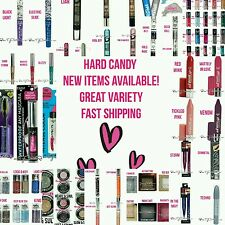 LOT 200 Hard Candy WHOLESALE MAKEUP Eyeshadow Mascara Lips Nails Eyeliner NEW