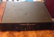 CREST AUDIO CA9 Power Amp Amplifier ONE SIDE NEEDS REPAIR