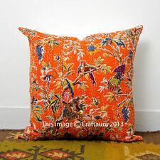 """Extra Large 24"""" Handmade Pillow Case Throw Indian Cushion Cover Ethnic Decor Art"""