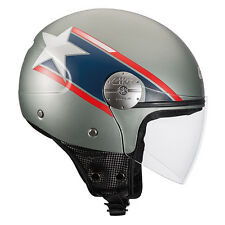 H107FSTUS54 D-JET HELMET GIVI 10.7 MINI-J MODEL STAR USA SIZE XS 54 CM