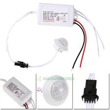 Automatic Light Bulb AC 220V IR LED Strip PIR Body Infrared Motion Sensor Switch