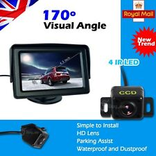 "4.3"" TFT LCD Monitor +HD IR Night Vision Reversing Camera 170°Car Rear View Kit"