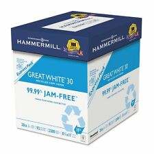 Hammermill Great White 30 Recycled White Copy Paper  - HAM67780
