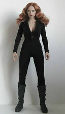 Custom 1/6 Black Tight  Suit  For Phicen  Body  Black Widow NEW