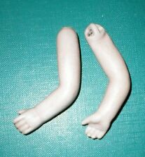 """antique arms 2.48"""" for dollhouse doll lastic fixing/replacemant/Germany"""