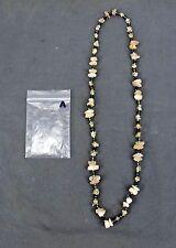 Handmade Natural Gem Stone Chip Necklace 32'' Rose Quarts Lot-A