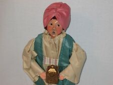 Byers Choice Retired 1989 Nativity Series  King Balthasar with Gold